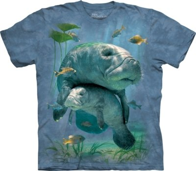 T-Shirt Manatees Collage