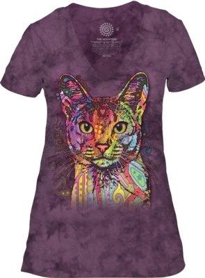 Abyssinian Cat V-neck