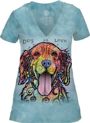 Dog Is Love V-neck