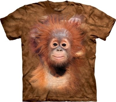 T-Shirt Orangutan Hanging Kids