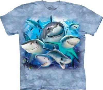 T-Shirt Shark Selfie Kids