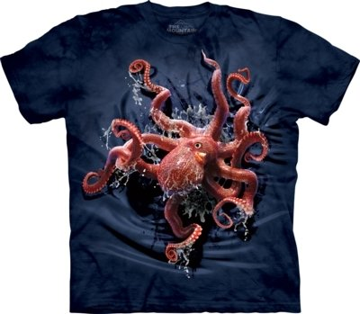 T-Shirt Octopus Climb Kids