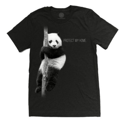 T-Shirt Panda Protect My Home