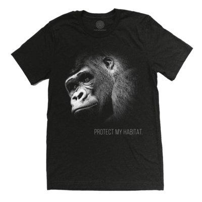 T-Shirt Gorilla Protect My Habitat