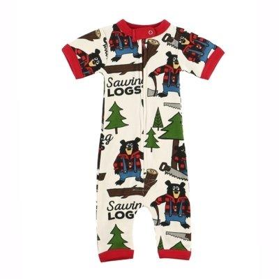 Sawing Logs Baby Pyjamas