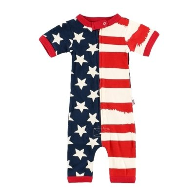 Stars & Stripes Baby Pyjamas