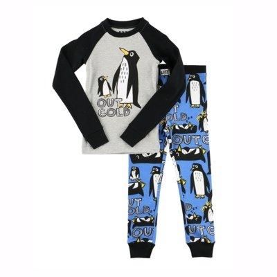 Out Cold Penguins Kids - PJ Set