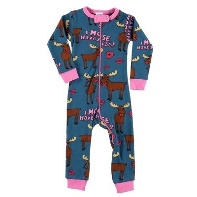 I Moose Have a Kiss Baby Pyjamas