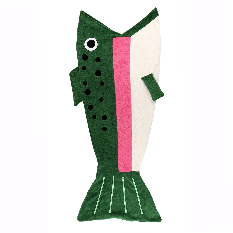 Barnpläd Sea Tail Fisk
