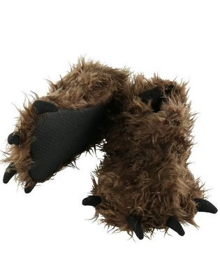 Big Foot Paw Slippers