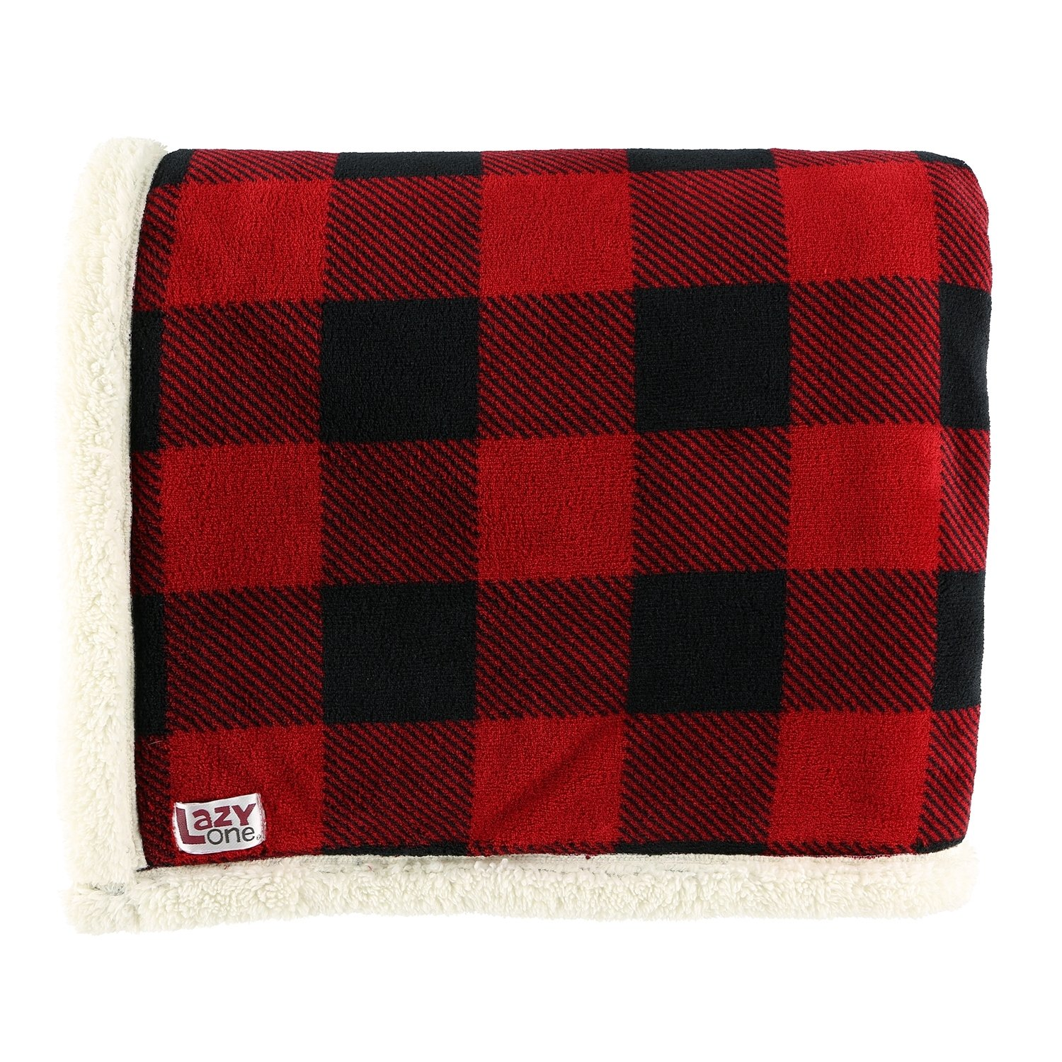 Pläd/Filt Red Plaid
