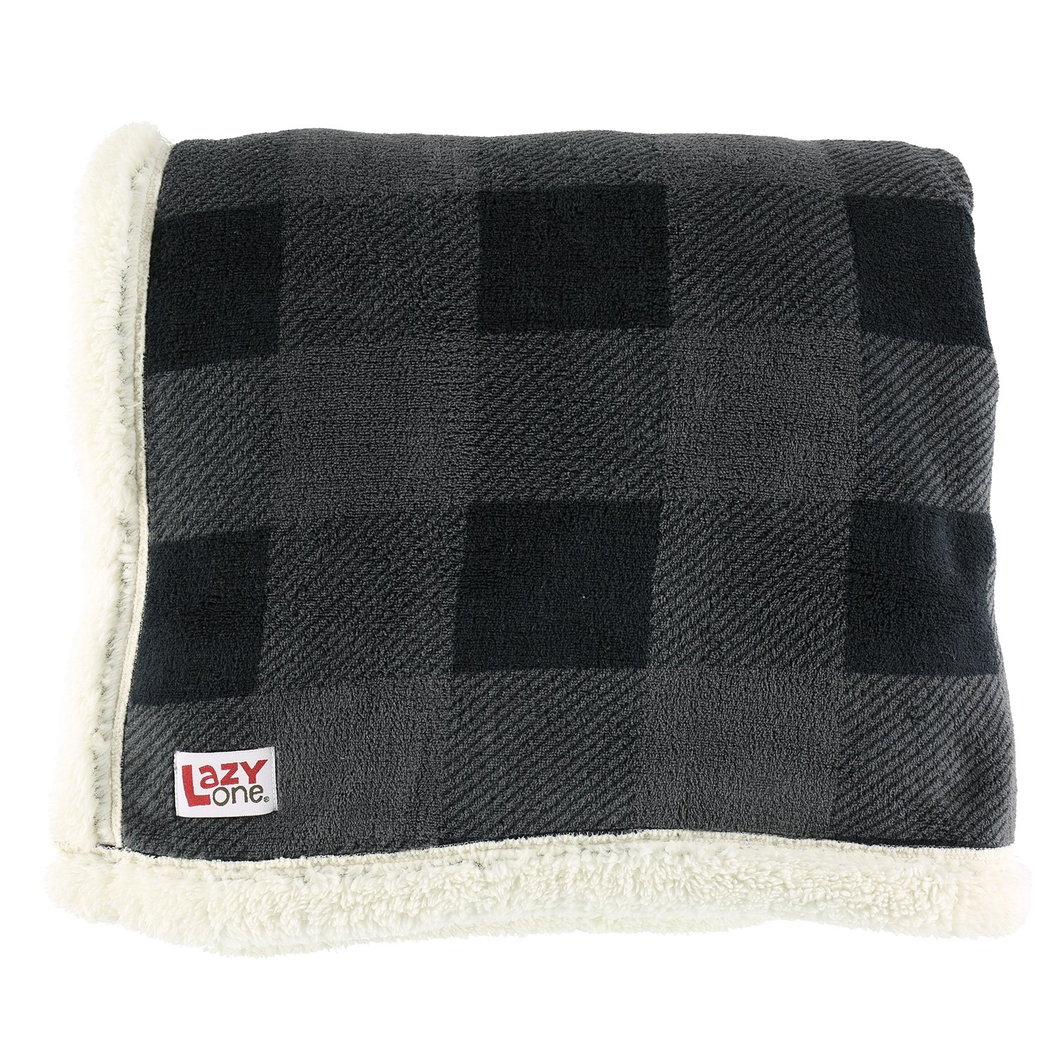 Pläd/Filt Grey Plaid