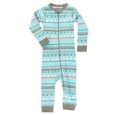 Nordic Snowman Baby Pyjamas