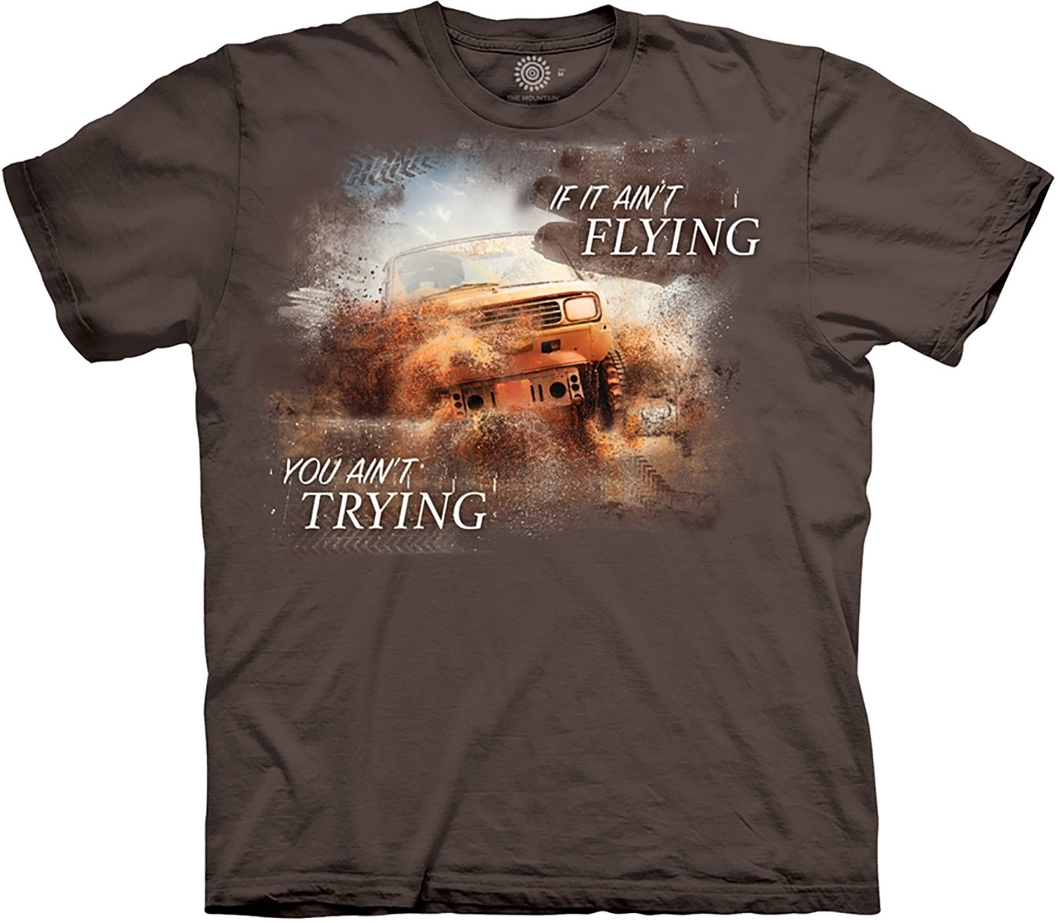T-Shirt Mud Flying