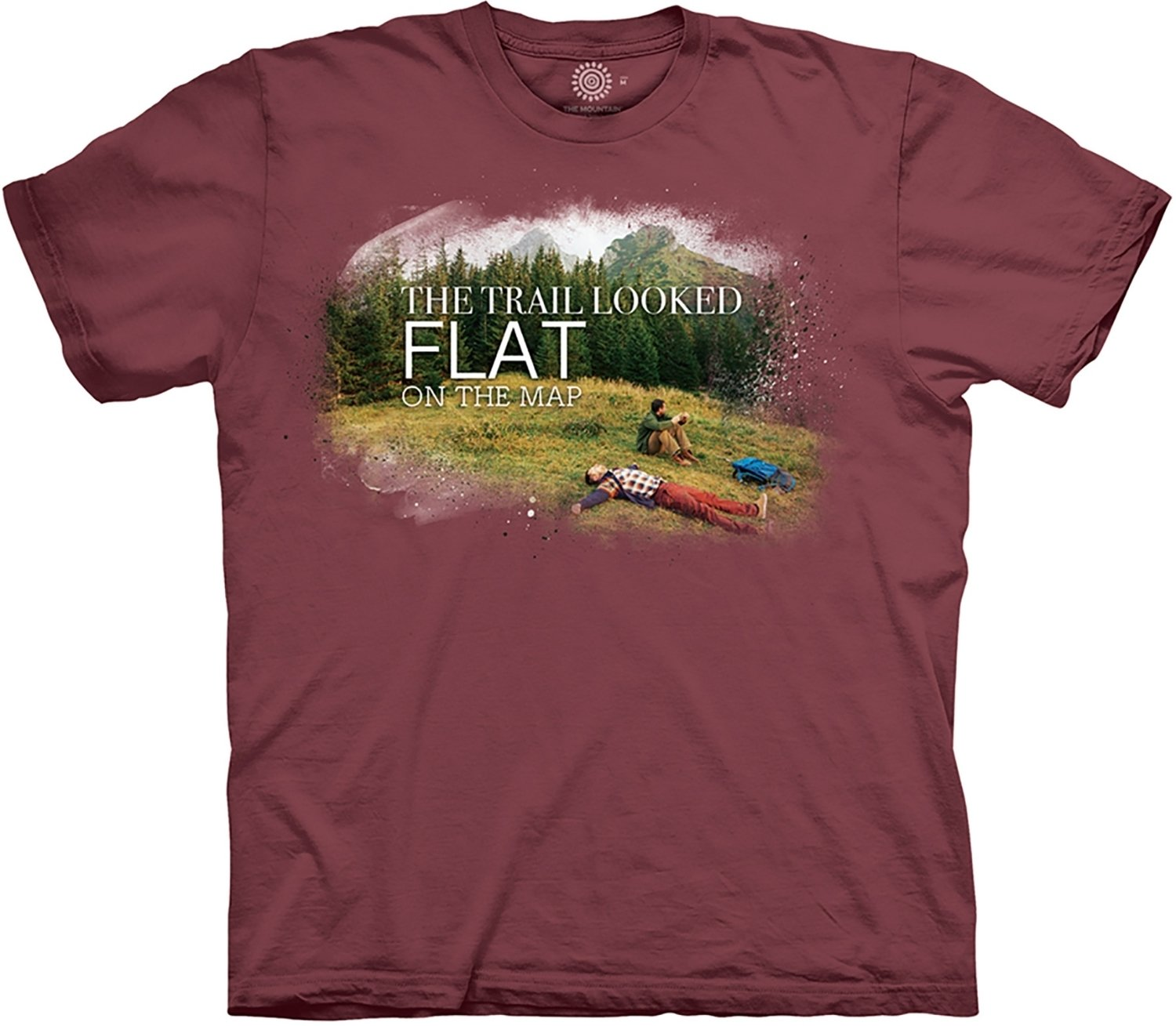 T-Shirt Steep Hiking