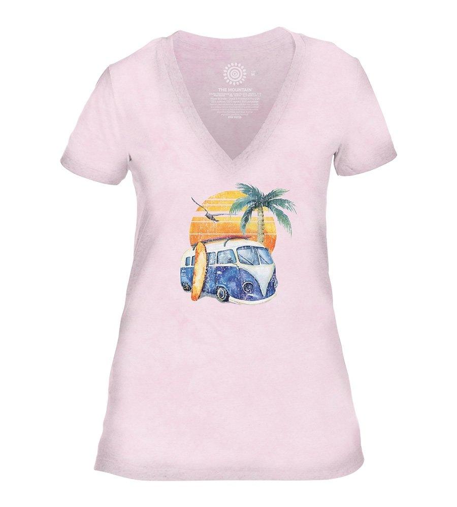 T-shirt Retro Surf