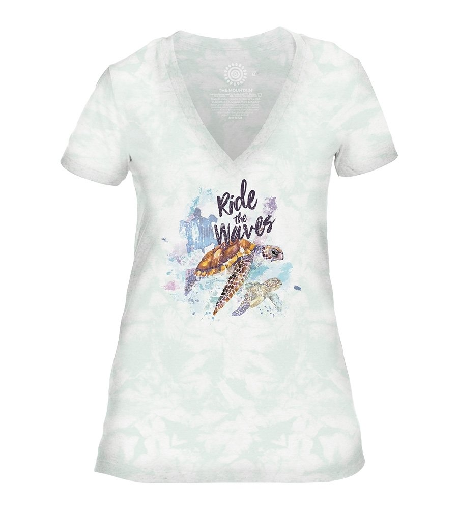 T-shirt Ride The Waves