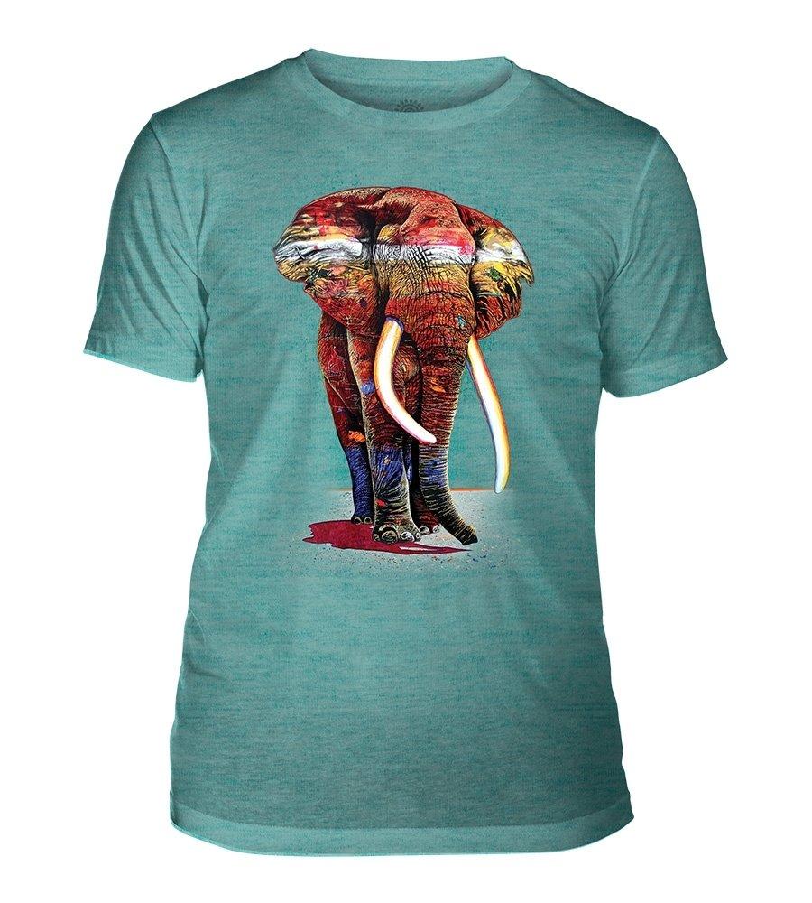 T-Shirt Painted Elephant