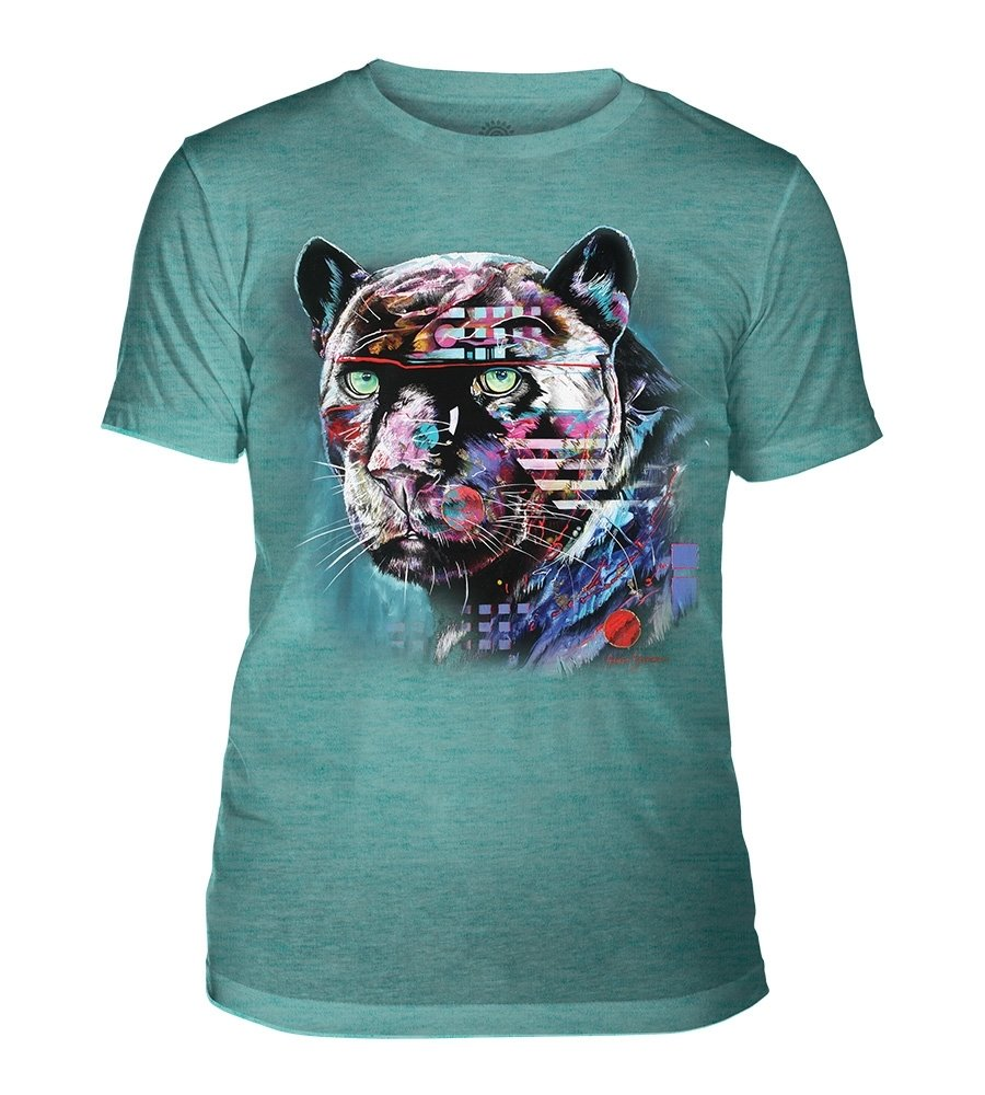 T-Shirt Painted Jaguar