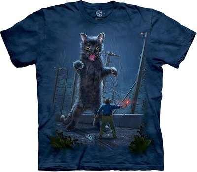 T-Shirt Jurassic Kitten