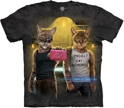 T-Shirt Cat Fight