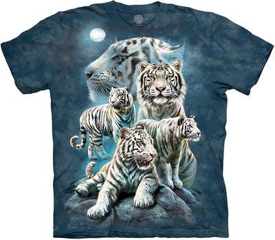 T-Shirt Night Tiger Collage
