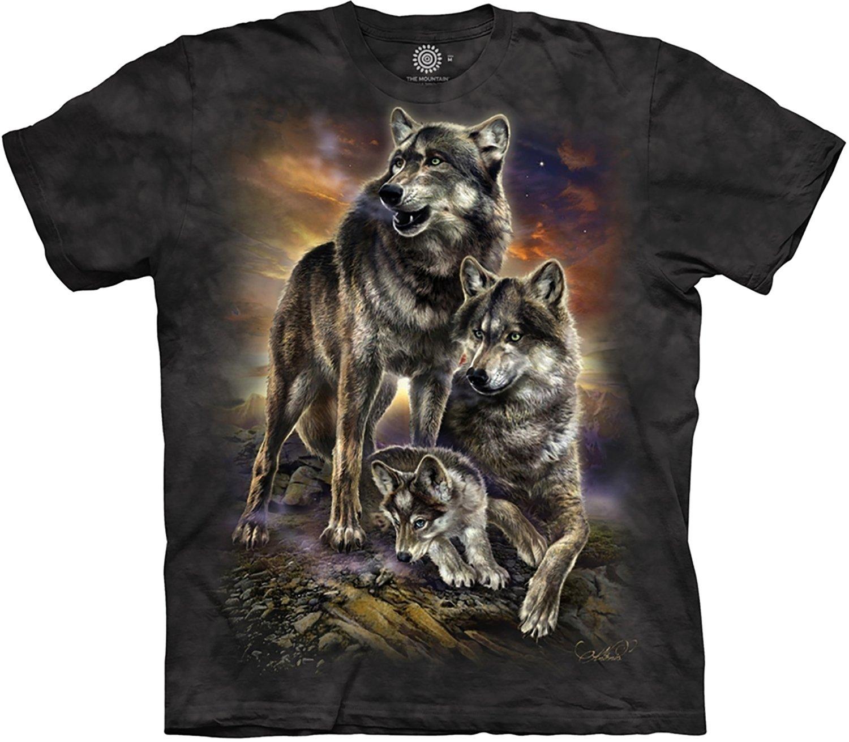 T-Shirt Wolf Family