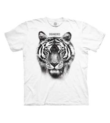 T-Shirt Endangered White