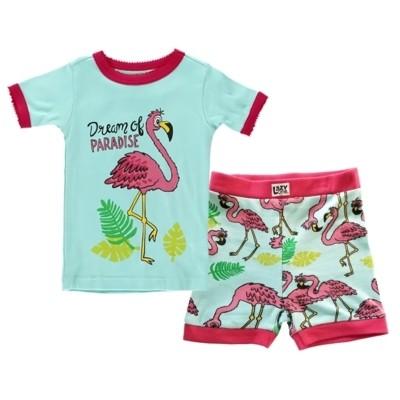 Flamingo Tropical PJ Set