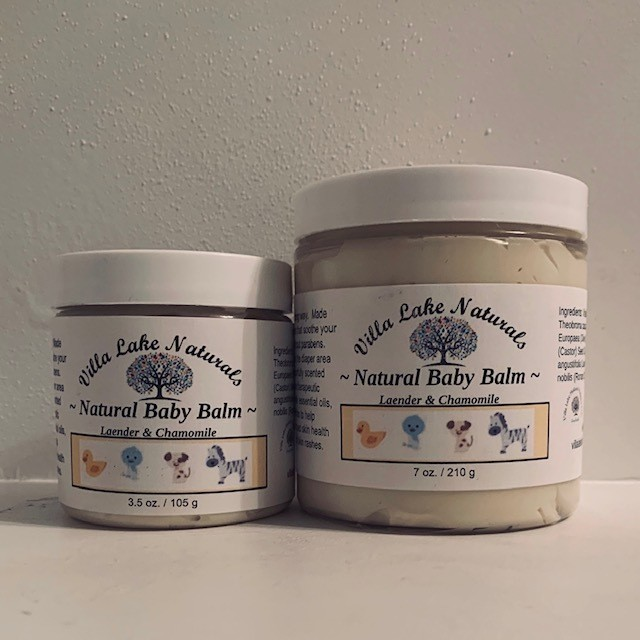 Baby ~Natural Baby Balm - Lavender Chamomile 3.5 oz.