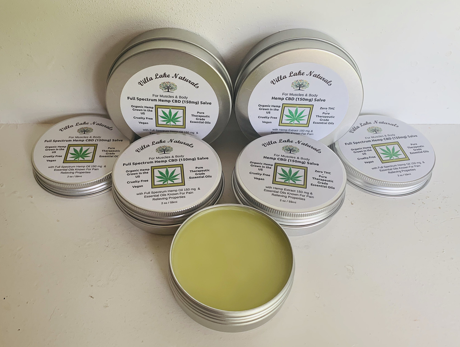 Hemp CBD 150mg Muscle & Joint Salve - 1.5 oz.
