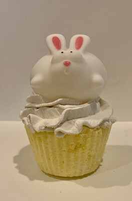 Soap ~ Cupcake Soap ~ with Easter Little Squirt  3.7 oz.