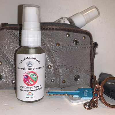 Natural Home - Hand Sanitizer Spray - Two Travel Size 1-ounce Bottles