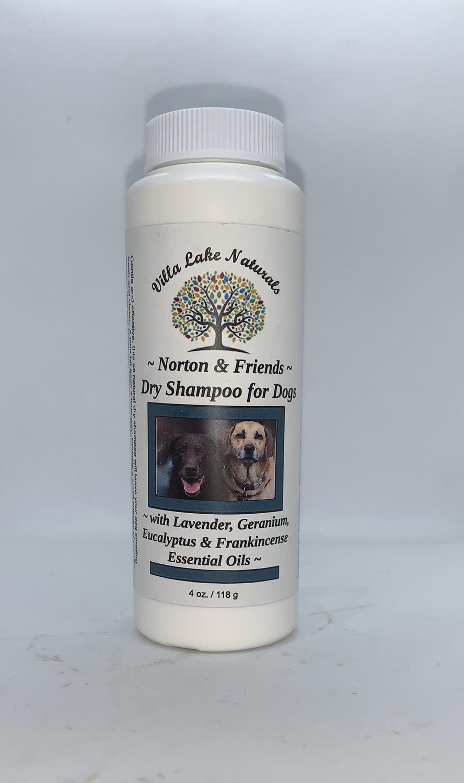 Norton & Friends ~ Dry Shampoo for Dogs 4 oz.