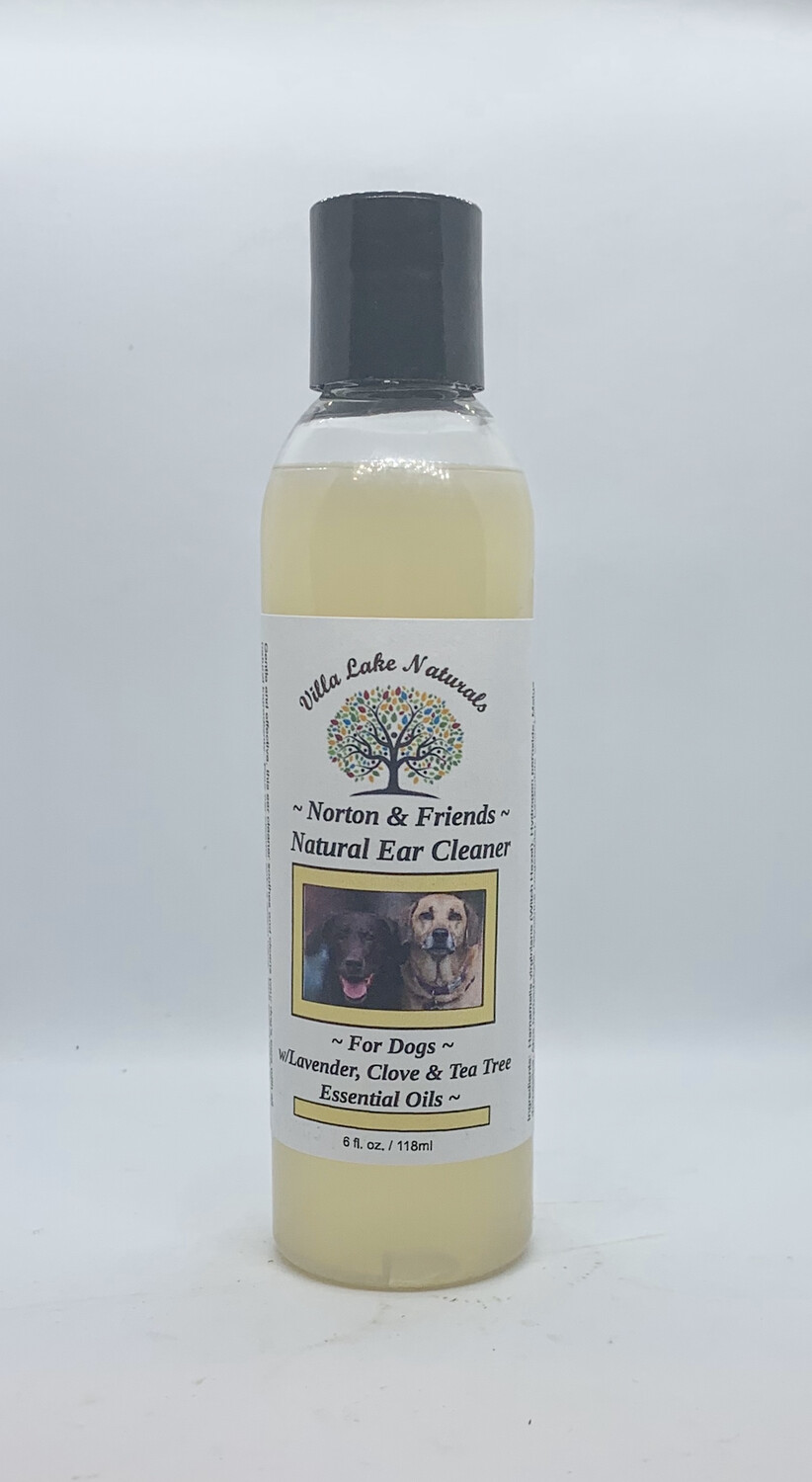 Norton & Friends ~ Natural Ear Cleaner for Dogs 6 oz.