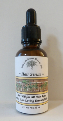 Love Your Hair! ~ Herbal Hair Serum - Leave In Blend for All Hair Types 1 oz.