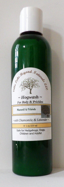 Maxwell & Friends Hogwash for Body & Prickle 8 oz (with Refillable Muslin Oatmeal Soak)