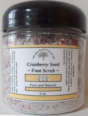 Treat Your Feet! Foot Scrub ~ Cranberry Seed  8 oz.