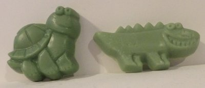 Soap ~ Turtle & Alligator Shea Butter Soaps (Set of two soaps) 3.6 oz./set