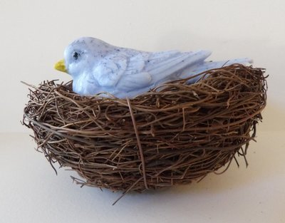 Soap ~ Bird in Nest Soap - Bird weighs 2.4 oz.