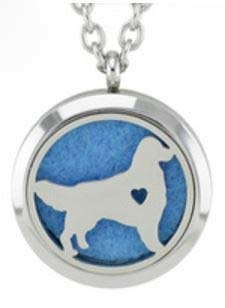 Jewelry/Pendant ~ Aromatherapy Pendant - Dog with Chain