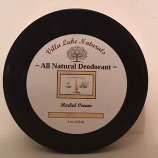 Deodorant - Natural Deodorant Cream - Choose Essential Oil or Oil Blend 4 oz.