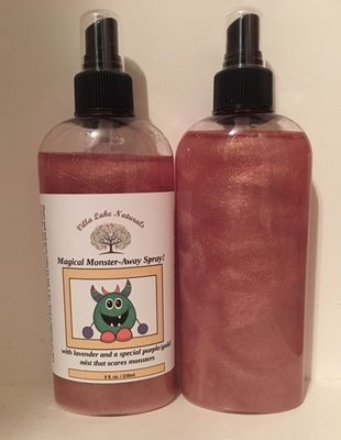 Kids - Magical Monster-Away Spray 8 oz.~ Kids Naturally!