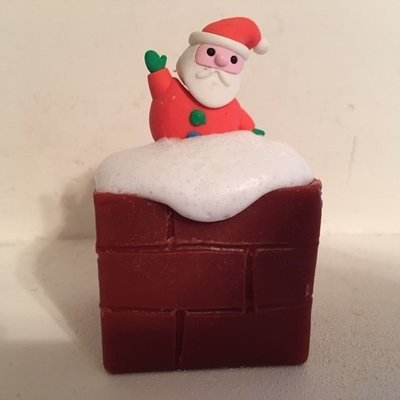 Soap ~ Limited Quantities ~ Comin' Down the Chimney  ~ with Vanilla & Orange Essential Oils