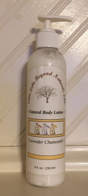 Body Lotion ~ Natural Beeswax Body Lotion - Choose From a Variety of Essential Oils or Oil Blends  8 oz.
