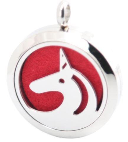 Jewelry/Pendant ~ Aromatherapy Pendant - Unicorn with Chain