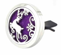 Jewelry ~ Aromatherapy Car Vent Diffuser - Holiday Deer