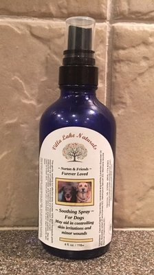 Norton & Friends ~ FurEver Loved Dog Spray for Skin Irritations - with Skin Therapy Blend Essential Oil  2 oz.