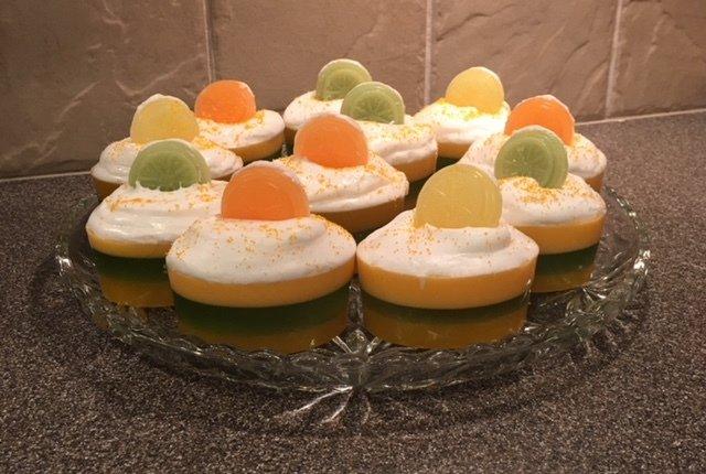 Soap ~ Citrus Parfait Soap ~ w/Citrus Essential Oils One Soap 4 oz.