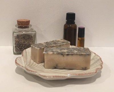 Bath Melt ~ Lavender w/Lavender Buds ~ Three Melts total 5.5 oz.